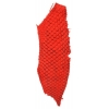 Second Skin 100% Fish Leather 10in Bright Red Suede